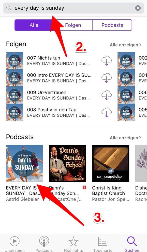 iTunes Bewertung 3
