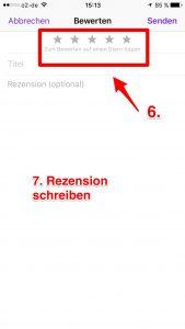 iTunes Bewertung 6